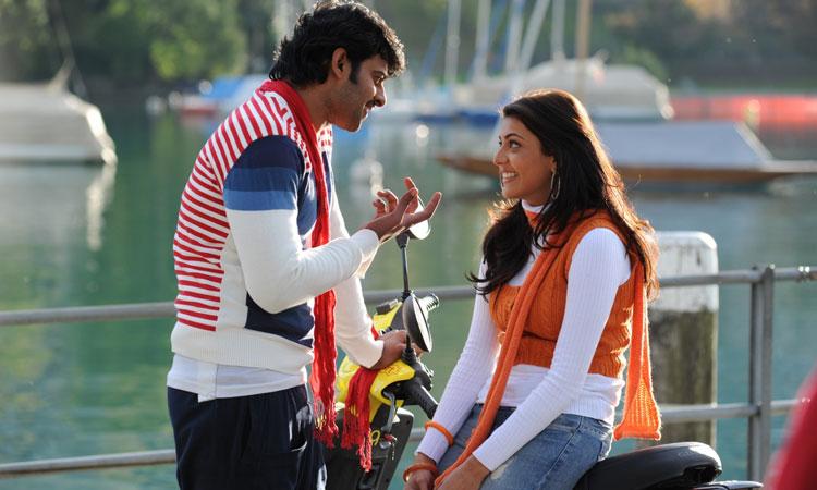 Kajal to romance Prabhas, ప్రభాస్తో మూడోసారి కాజల్..?