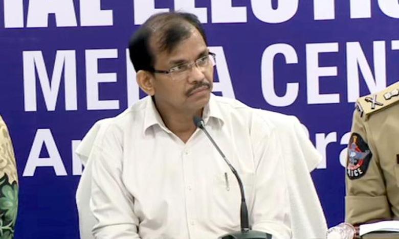 AP CEO Gopal Krishna Dwivedi review about repolling, రీపోలింగ్పై అధికారులతో ద్వివేదీ సమీక్ష
