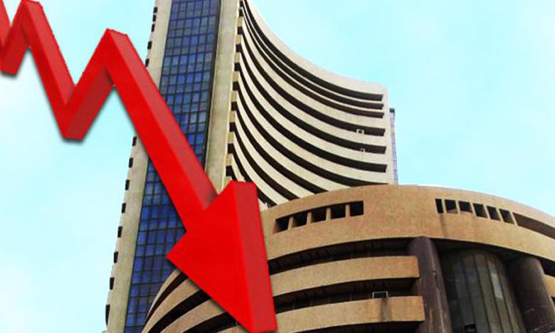 Stock Markets, నష్టాల బాటలో సెన్సెక్స్..!