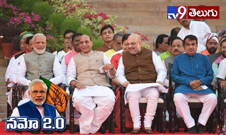 Here is the List of Modi's New Cabinet Ministry, ముగిసిన మోదీ కొత్త కేబినెట్ మంత్రుల ప్రమాణ స్వీకారం…