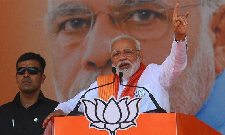 PM Modi Responce on Sadhvi Pragya Comments, గాడ్సే దేశభక్తుడా? సాధ్విని క్షమించబోమన్న మోదీ