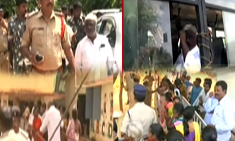 రీపోలింగ్లోనూ 'చంద్రగిరి' ఉద్రిక్తం.. టీడీపీ కార్యకర్త అరెస్ట్