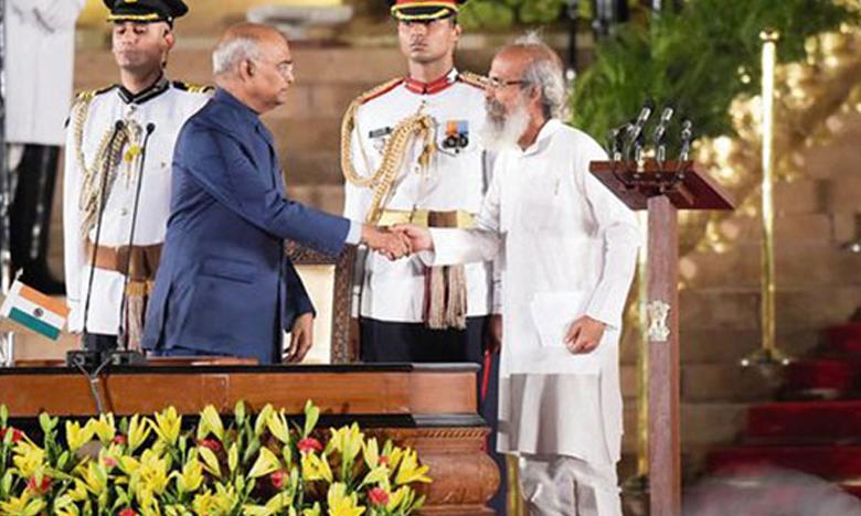 Central Minister Pratap Chandra Sarangi, ఓ కేంద్రమంత్రి..నీవే కదా అసలైన మహర్షి