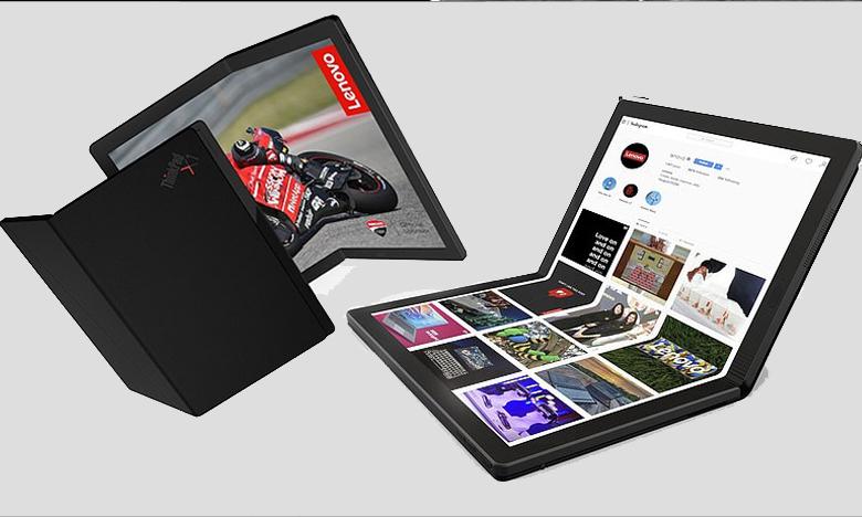World's first foldable laptop, ప్రపంచంలో తొలిసారి.. మడతపెట్టే ల్యాప్టాప్