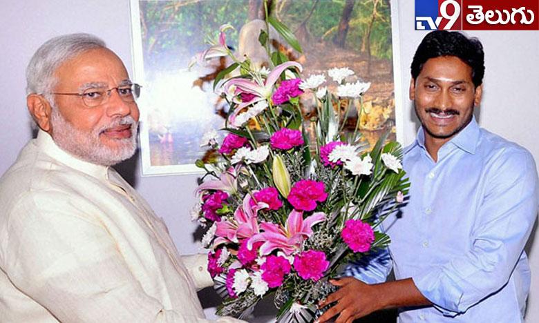 Pm modi congratulates ys jagan mohan reddy over election results, వైఎస్ జగన్కు తెలుగులో విషెస్ చెప్పిన మోదీ