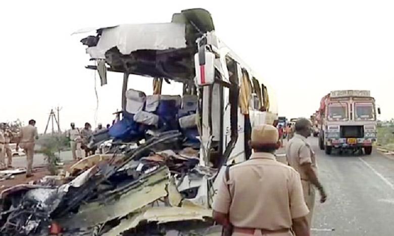 Major Road Accident, కర్నూలు హైవేపై రోడ్డు ప్రమాదం, ముగ్గురు మృతి