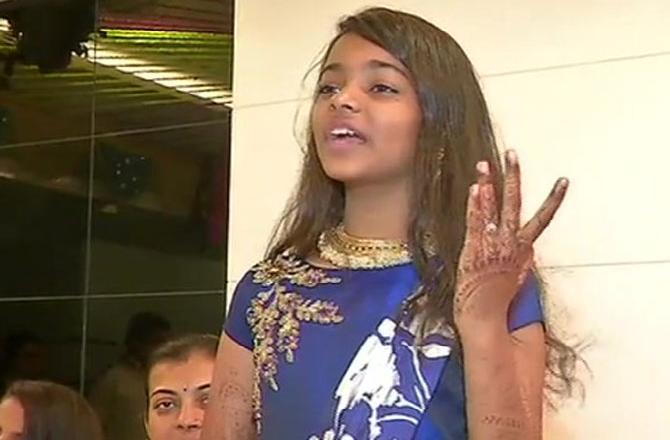 SURAT GIRL 12, TO BECOME JAIN MONK, PARENTS SAY PROUD, 12 ఏళ్ళ అమ్మాయి..ఇక జైన సన్యాసిని