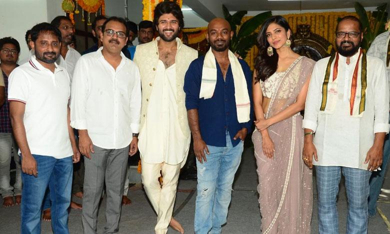 Hero movie launched, 'హీరో'గా విజయ్ దేవరకొండ.. మూవీ ప్రారంభం