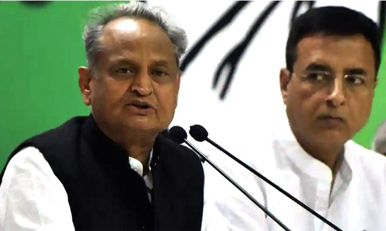 Rajasthan Congress Dissent Goes Public With