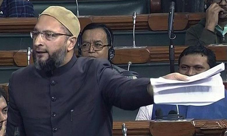 Asaduddin Owaisi about Triple Talaq Bill, మరి.. శబరిమల విషయం మరిచారా?- ఓవైసీ