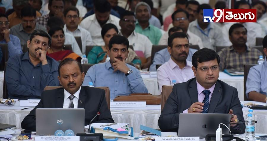 Ys Jagan, సీఎం 'వైయస్ జగన్' కలెక్టర్లతో కాన్ఫరెన్స్ ఫోటోలు