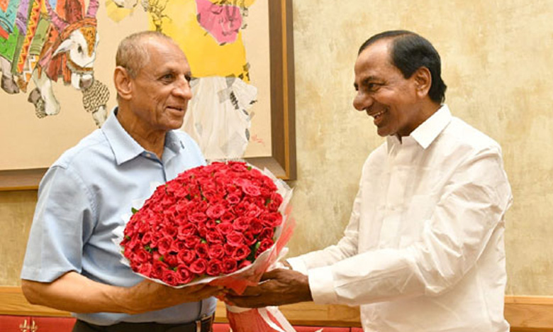 CM KCR meets, గవర్నర్తో కేసీఆర్ భేటీ!