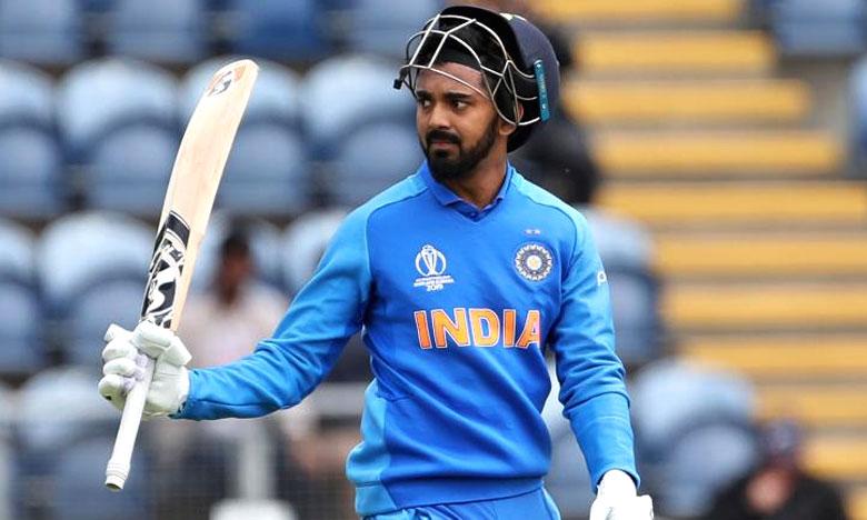 ICC World Cup2019, హాఫ్ సెంచరీ మిస్సైన కేఎల్ రాహుల్..