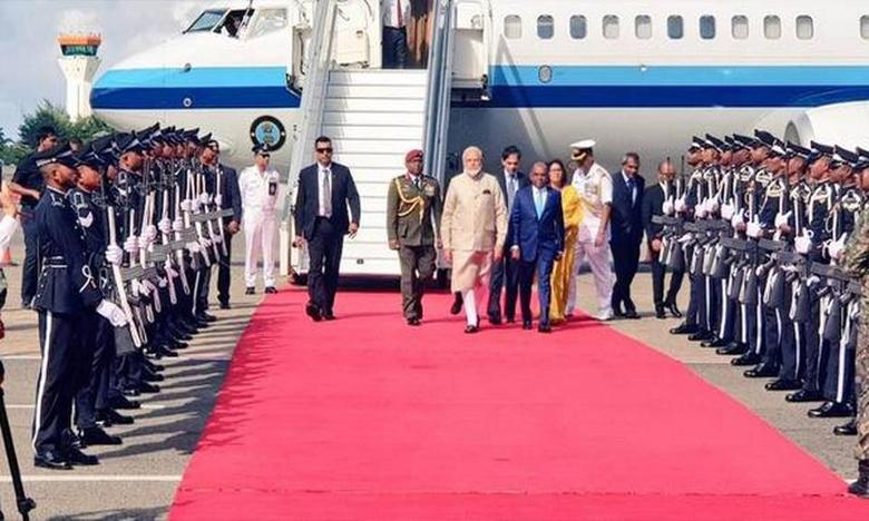Narendra Modi, మాల్దీవుల్లో మోదీకి అపూర్వ స్వాగతం!