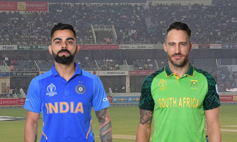 ICC Cricket World Cup 2019, వరల్డ్ కప్ 2019: భారత్ VS సౌతాఫ్రికా మ్యాచ్ ఓవర్ టూ ఓవర్ వివరాలు