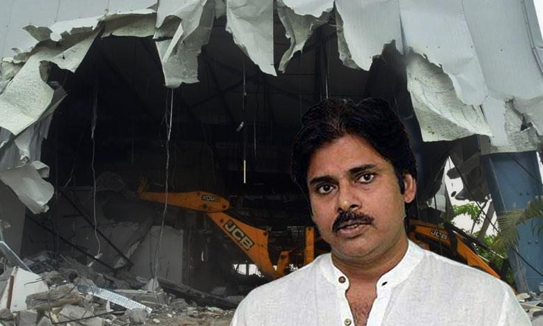 Pawan Kalyan Prajavedika Demolition, ప్రజావేదిక కూల్చివేత సక్రమమే – పవన్