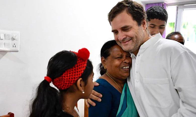 Rahul Gandhi In Wayanad, రాహుల్ కన్నా! నాడు నిన్నెత్తుకున్నది నేనే..