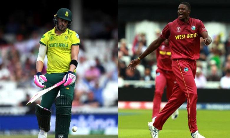 Cricket World Cup 2019, కష్టాల్లో సౌతాఫ్రికా.. ఆదుకున్న వరుణుడు!