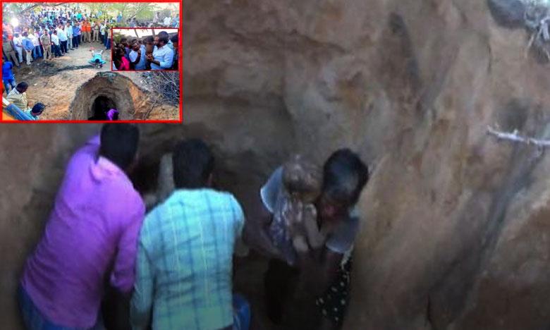 Four-year-old girl falls into borewell hole, కందకంలో పడిన చిన్నారి మృతి…నెల్లూరులో విషాదం