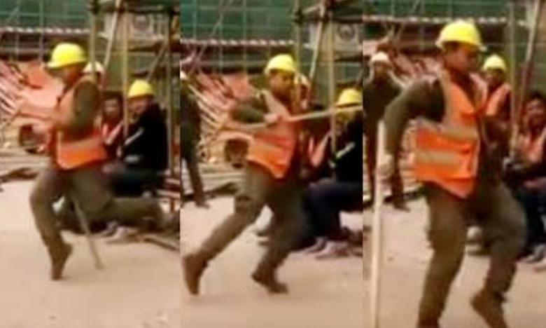 KTR applauds a Metro Rail worker for his amazing dance talent, మెట్రో వర్కరే కాదు.. మరో మైకెల్ జాక్సన్ కూడా!