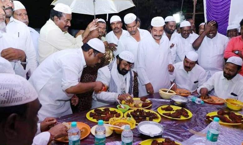 MLA Nandamuri Balakrishna, బాలయ్య ఇఫ్తార్ విందు..!