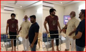 Naga shaurya Met Accident, ఎలా ఉన్నావ్ శౌర్య..యంగ్ హీరోకు దర్శకేంద్రుడి పరామర్శ