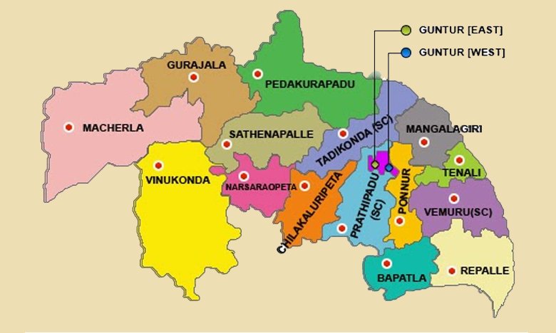Guntur New Districts, మూడు జిల్లాలుగా గుంటూరు