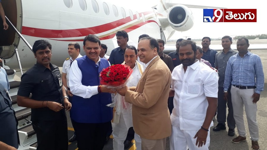 AP CM.YS.Jagan Mohan Reddy And Maharastra CM Devendra Fadnavis, 'కాళేశ్వరం' ప్రాజెక్ట్ దగ్గర ఏపీ సీఎం  జగన్,మహారాష్ట్ర సీఎం దేవేంద్ర సందడి