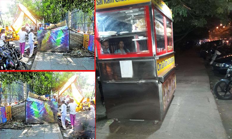 Hyderabad GHMC Action plan for Clean city, ఫుట్పాత్ ఆక్రమణలపై జీహెచ్ఎంసీ కొరడా