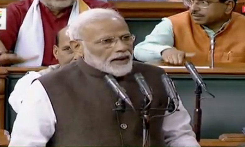 First session of 17th Lok Sabha begins; PM and members take oath, నరేంద్ర దామోదర్ దాస్ మోదీ అనే నేను…