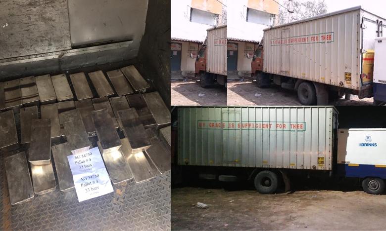 Silver seized in Secunderabad, హైదరాబాద్లో భారీగా పట్టుబడ్డ వెండి