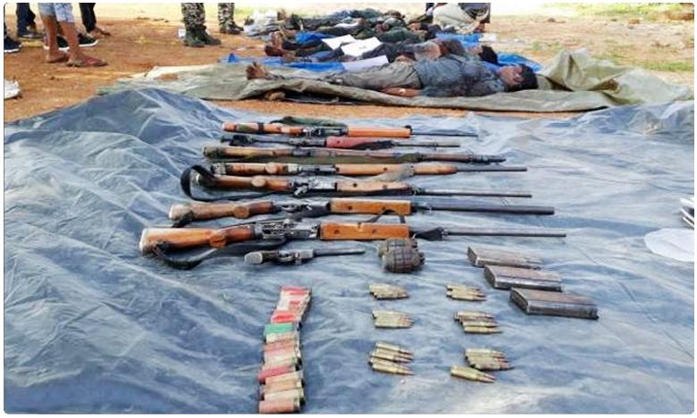 Seven Maoists killed in encounter in Chhattisgarh, పోలీసుల కాల్పుల్లో ఏడుగురు నక్సలైట్లు మృతి