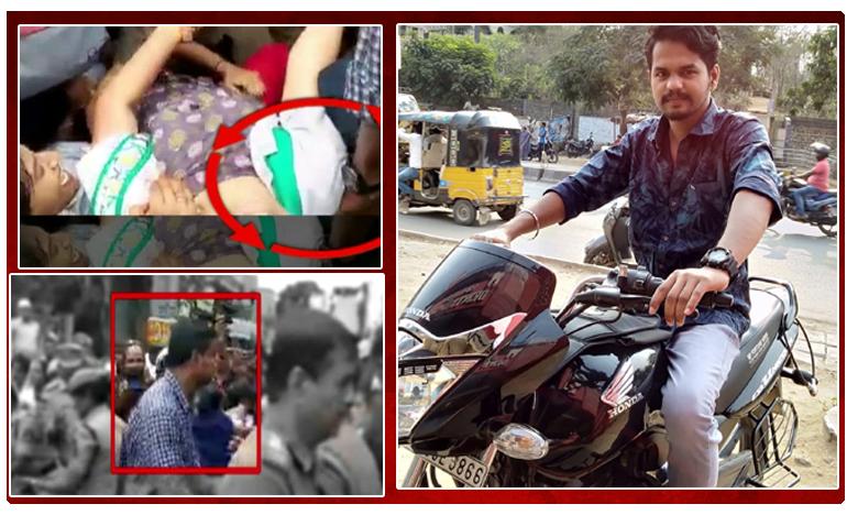 Constable pinches and kicks lady doctor in Charminar, కాళ్లతో తొక్కి.. గోళ్లతో గిచ్చిన… సైకో పోలీస్