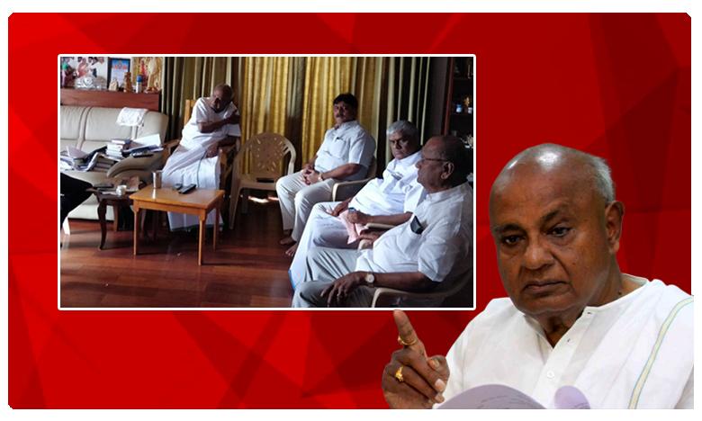 Karnataka politics, సంక్షోభానికి సిద్ధరామయ్యే కారణం.. : దేవెగౌడ