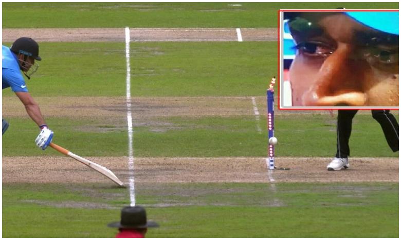 ICC World Cup 2019, ధోని కళ్లల్లో నీళ్లు..ఫ్యాన్స్ భావోద్వేగం