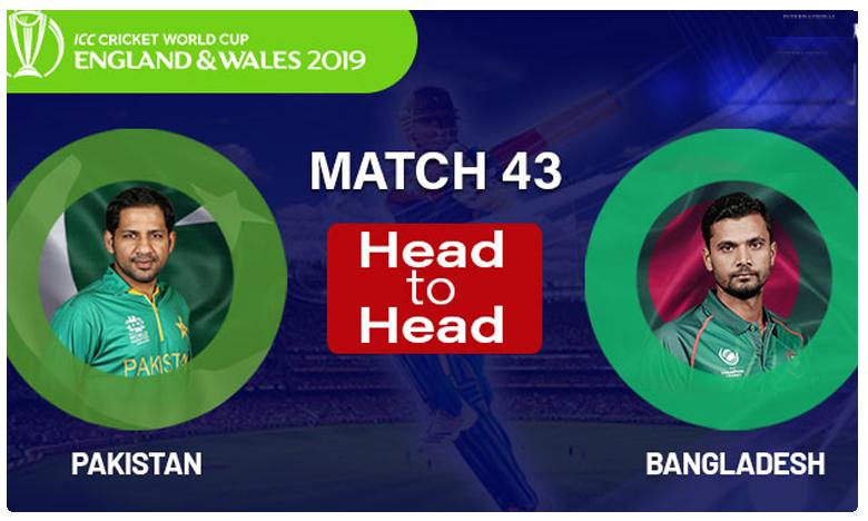 ICC World Cup 2019, పాక్ VS బంగ్లా మ్యాచ్: బంగ్లాదేశ్ టార్గెట్ 316 పరుగులు