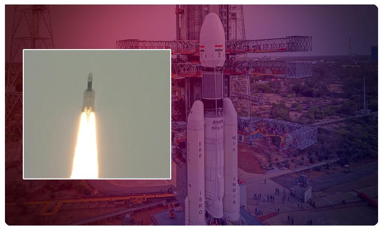 GSLV-MkIII carrying Chandrayaan-2 lifts off successfully, బ్రేకింగ్: 'చంద్రయాన్-2' ప్రయోగం సక్సెస్.. భారత్ సరికొత్త రికార్డు