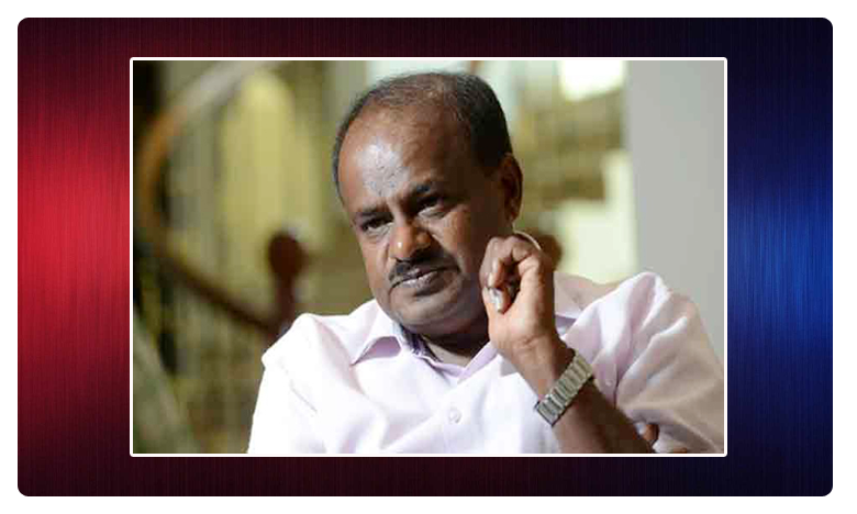 Karnataka Politics, బెంగళూరుకు బయలుదేరిన కుమారస్వామి