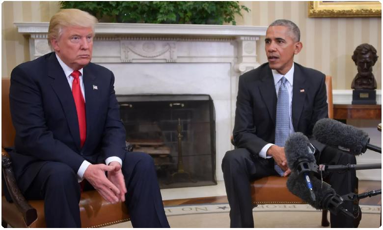 Barack Obama Shares op-ed Criticizing President Trump Racist Remark, మీరు చేస్తున్న పోరాటానికి గర్వపడుతున్నా.. : ఒబామా ట్వీట్