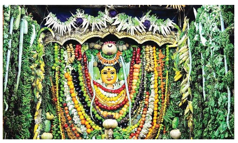 బెజవాడలో ప్రారంభమైన శాకాంబరీ ఉత్సవాలు