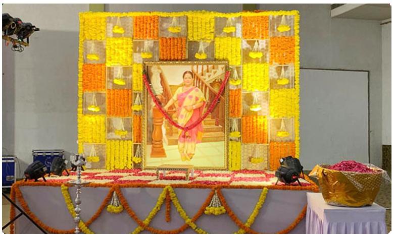 Vijaya Nirmala Dasa dina karma, విజయనిర్మల సంతాప సభ.. హాజరైన ప్రముఖులు