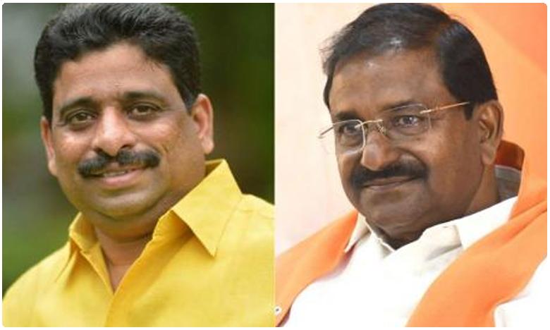Interesting Discussion between TDP MLC Buddha Venkanna and Somu Veerraju in AP Council lobby, బీజేపీలోకి రండి 'మంత్రి పదవి గ్యారెంటీ': బుద్ధాకు సోము బంపర్ ఆఫర్