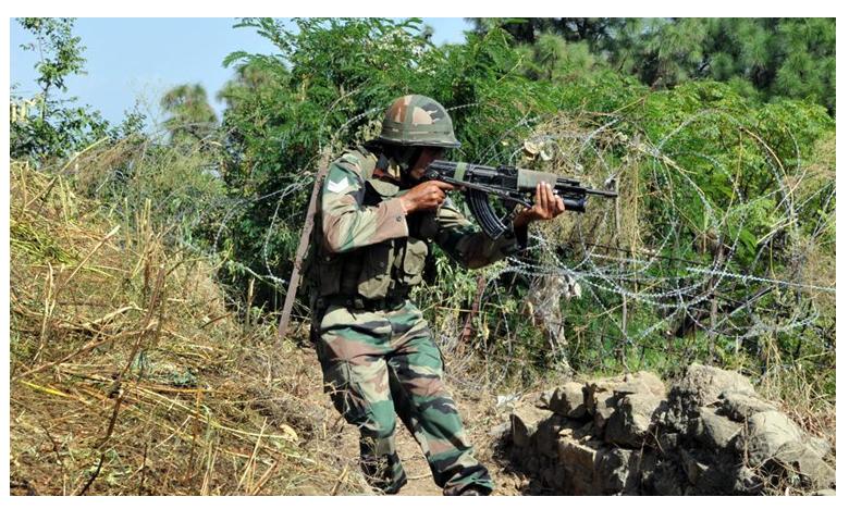 Pak Violates Ceasefire Along Line Of Control.. Army Retaliates, పాక్ వక్ర బుద్ది.. కాల్పుల విరమణ ఒప్పందానికి తూట్లు