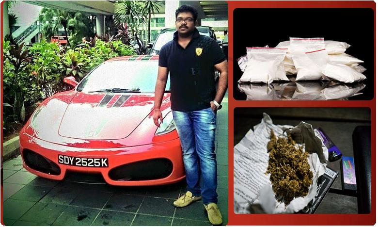 Drug racket busted in Hyderabad, నగరంలో మళ్లీ డ్రగ్స్ కలకలం