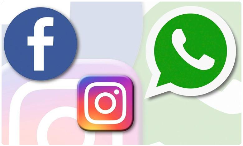 Facebook, స్తంభించిన ఫేస్బుక్, ఇన్స్టాగ్రామ్, వాట్సాప్!