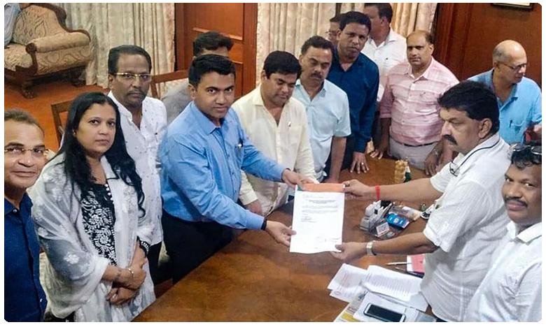 Congress Lawmakers Joins in BJP, గోవా కాంగ్రెస్కు భారీ షాక్.. కమలంలో విలీనమైన సీఎల్పీ