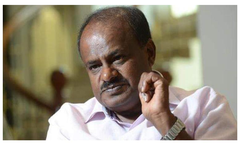 Governor Vajubhai Vala asks Kumaraswamy to prove majority by 01:30 pm tomorrow, రేపే కుమారస్వామి సర్కార్కు బలపరీక్ష