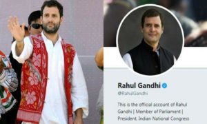 Rahul Gandhi changes Twitter bio from