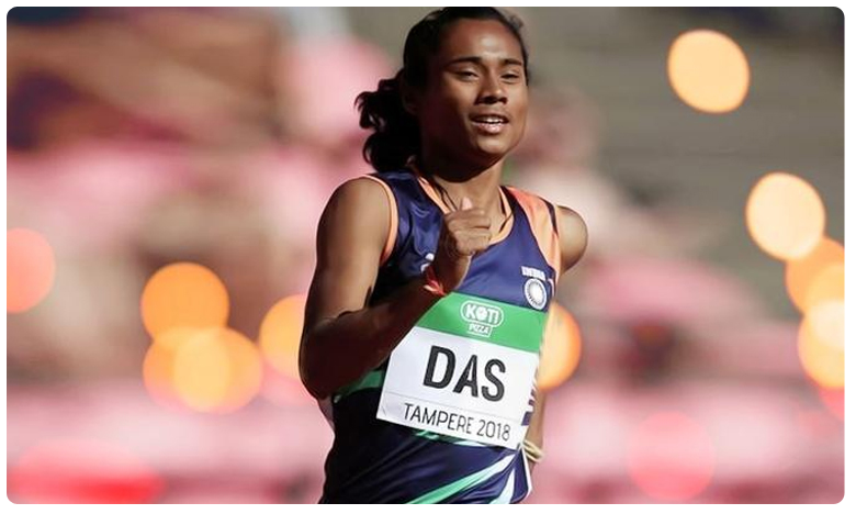Star Indian sprinter Hima Das wins 200m gold in Poland, చిరుతలా పరుగెత్తి.. స్వర్ణాన్ని దక్కించుకున్న హిమదాస్