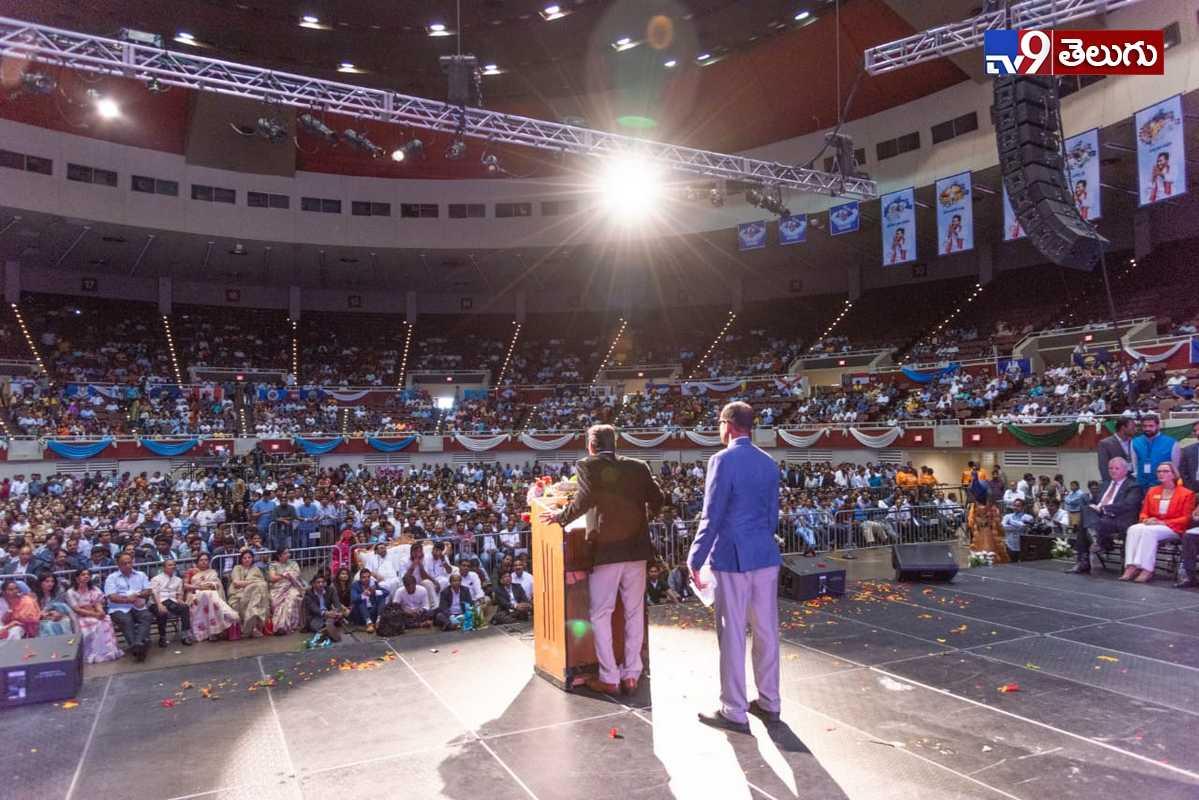 Jagan America Tour Photos, అమెరికా పర్యటనలో ప్రవాసాంధ్రులతో సమావేశమైన ఏపీ సీఎం జగన్ .